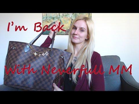I'm Back! WIMB Neverfull MM, Gucci Swing tote, trousse 23, agenda PM,