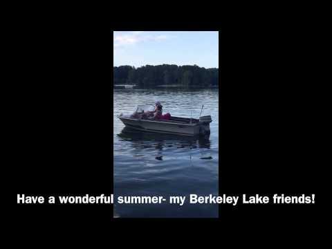 My New Boat on Berkeley Lake GA