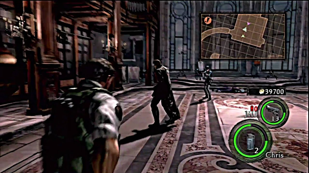 Resident Evil 5 Hd Lost In Nightmares Professional Intense Fight