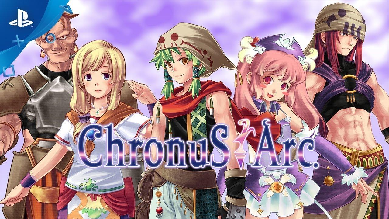 ChronusArc - Official Trailer | PS4, PS VITA
