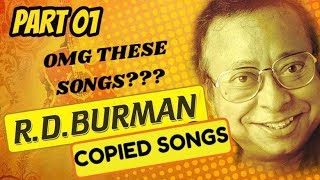 Copied Songs in Bollywood || RD Burman special || Part 01