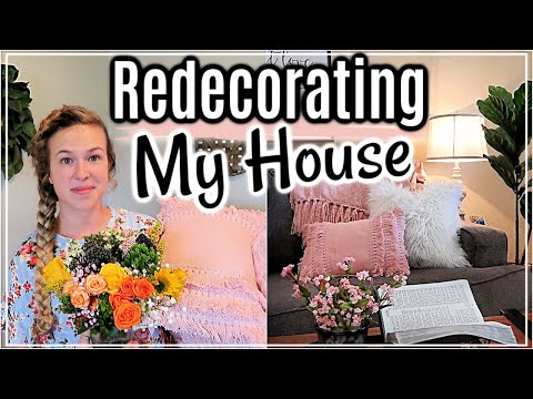 SPRING DECORATE WITH ME 2019 | REDECORATING MY HOUSE | SPRING DECOR IDEAS