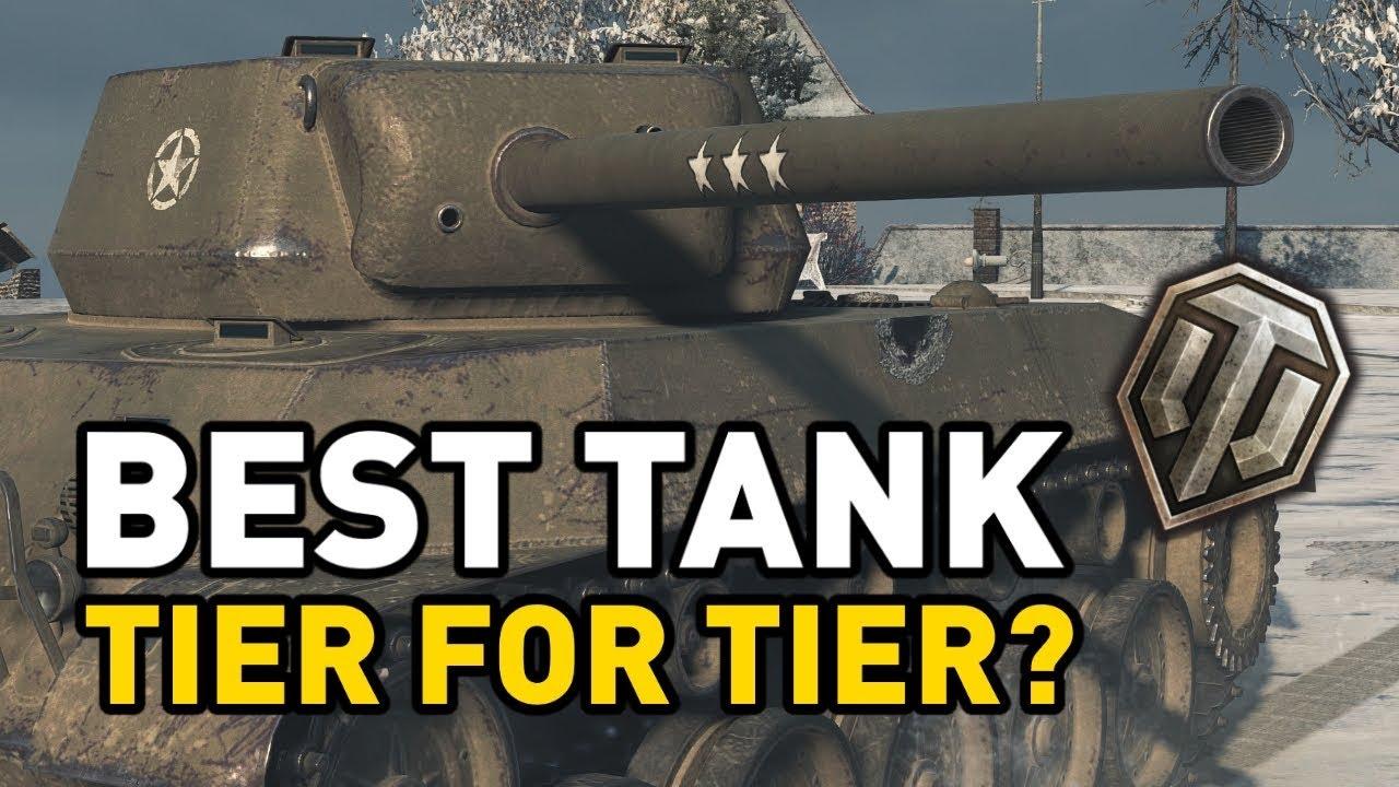 wot best tank by tier