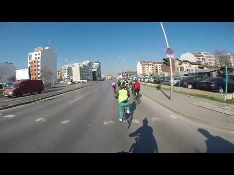 Велоизлет от София до Димитровград (Сърбия) и обратно 720p