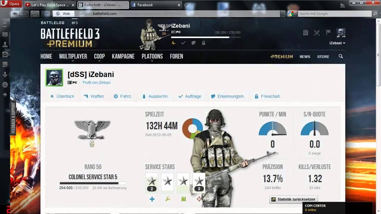 Battlefield 2 stats not updating 2012