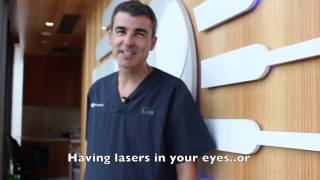 What is it like having laser eye surgery at Eye Institute