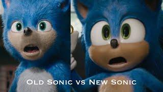 Old Sonic Trailer Vs The New Sonic Trailer