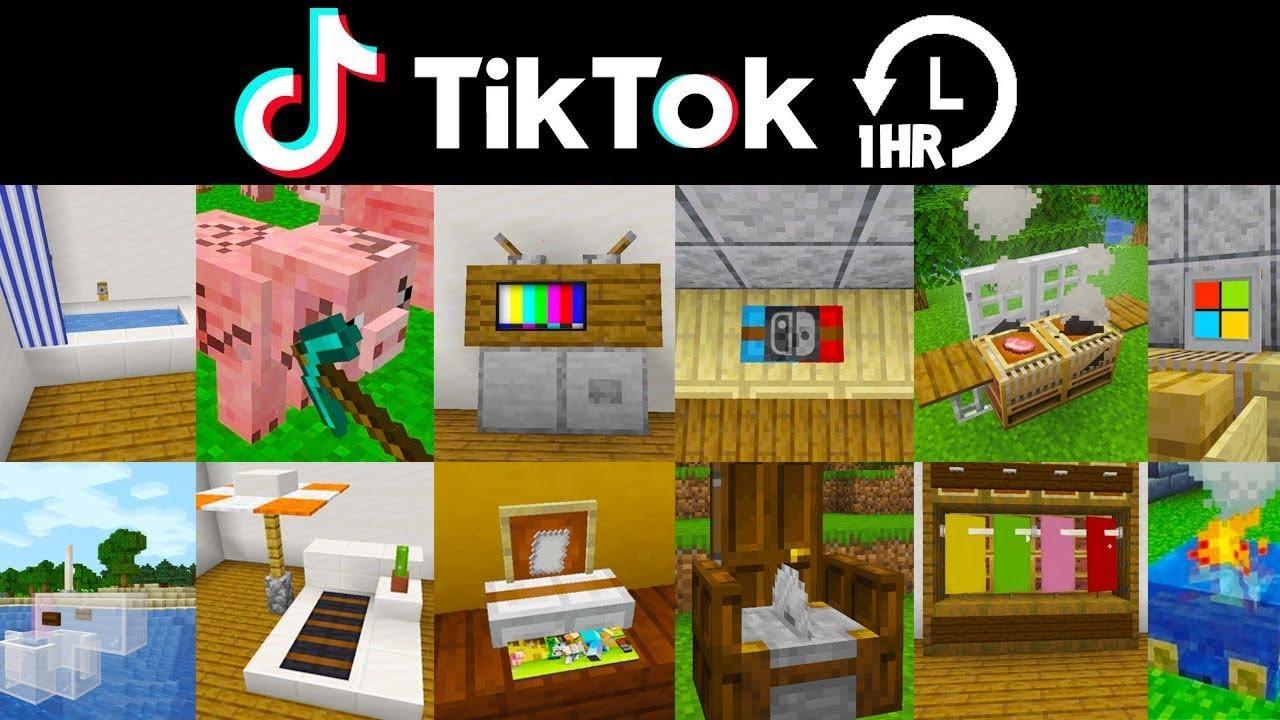 Minecraft Tik Tok Compilation (ONE HOUR Special)