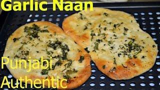 Garlic Naan Authentic Punjabi Recipe Video By Chawla's Kitchen Episode #218