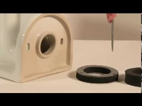 how to change gasket on toilet