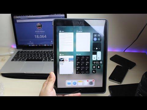 IOS 11.1 BETA 5 On IPAD AIR 2! (Review)