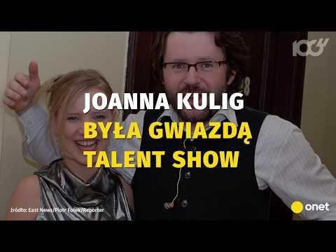 Młodziutka Joanna Kulig w