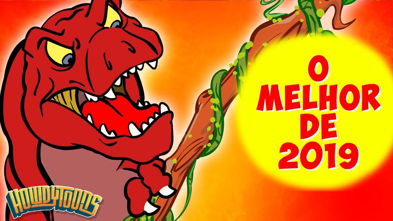 O Melhor de 2019 - Canções de Dinossauros do Dinostory de Howdytoons