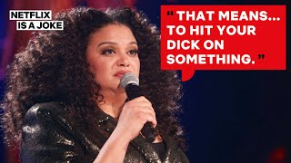 How Michelle Buteau Learned All the Dirty Dutch Words | Netflix Is A Joke