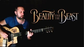 Beauty and the Beast - Dario Pinelli - Acoustic Guitar Cover (Music Video)