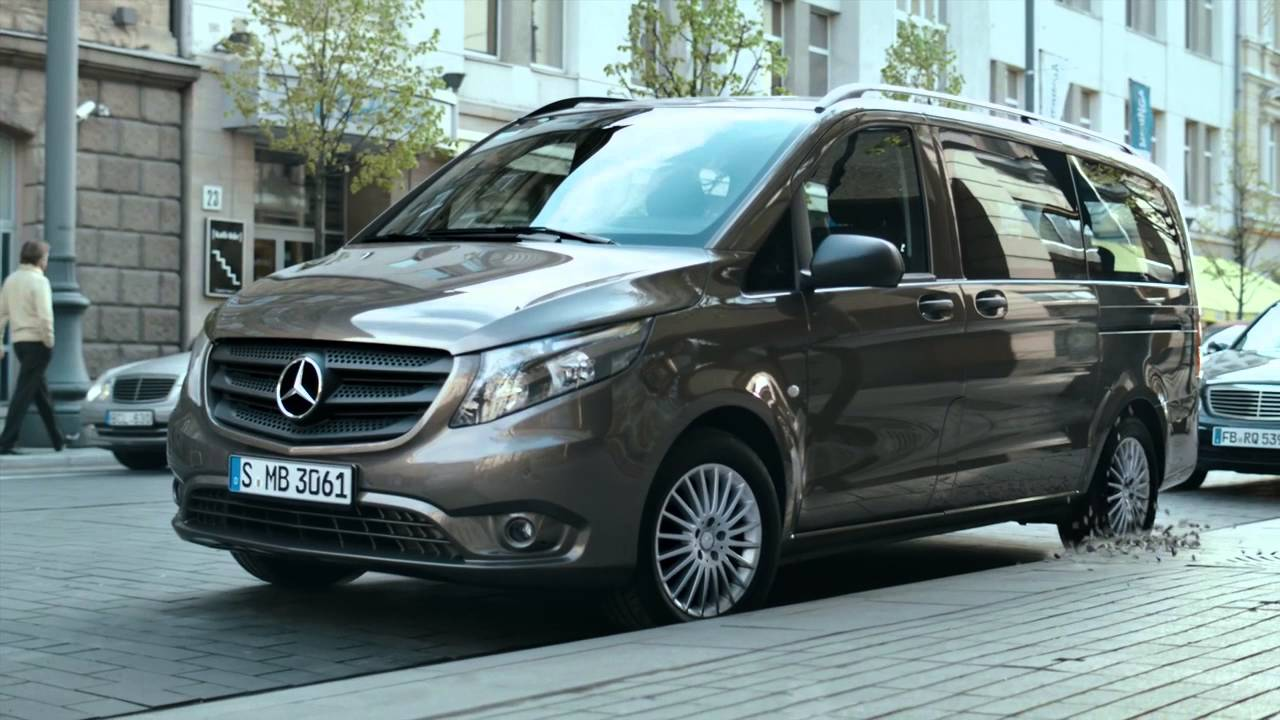 mercedes benz vans vito citan tourer youtube. Black Bedroom Furniture Sets. Home Design Ideas