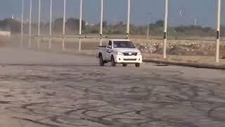 فيديو حادث تفحيط هايلكس