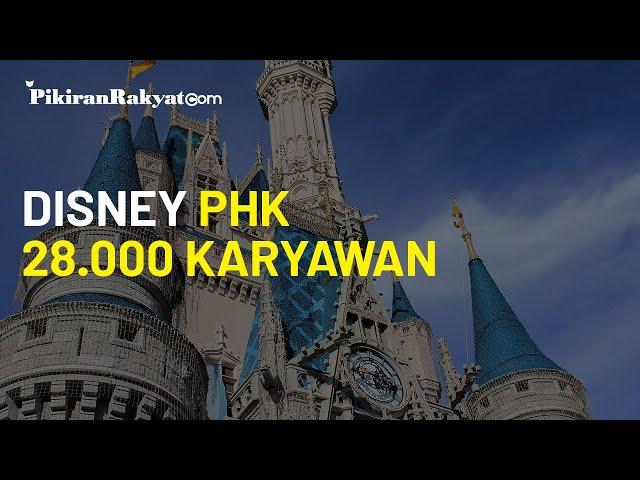 PHK 28.000 Karyawan akibat Pandemi, Manajemen Disney: Keputusan yang Sangat Sulit