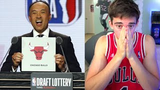 2020 NBA LOTTERY (Live Reaction) - Chicago Bulls Fan Reacts!