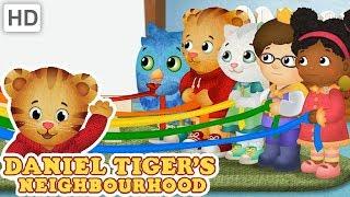 Daniel Tiger 🎨 Let's Do Crafts Together! | Videos for Kids