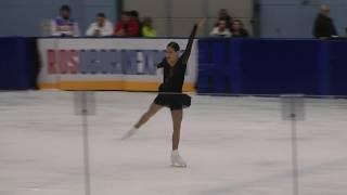 Станислава Константинова КП  Контрольные прокаты 2018-2019 Stanislava Konstantinova SP Open Skates