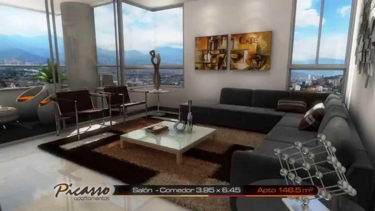 Apartamentos nuevos en Medelln PICASSO 146 5 m  YouTube