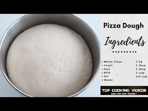 how-to-make-pizza-dough-at-home-recipe-|-recette-pâte-à-pizza-fait-maison