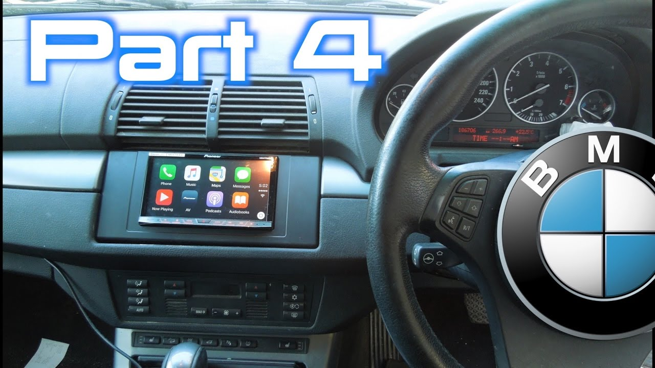 Bmw X5 After Market Stereo Installation Part 4 5