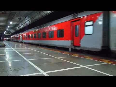 Night out at Boisar - Talgo, Rajdhani, Duronto & More - Indian Railways