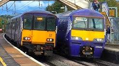 Trains at Carluke, WCML - 24/09/18