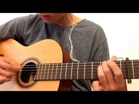 Lucidious face the truth ft. Xavier Frye guitar cover