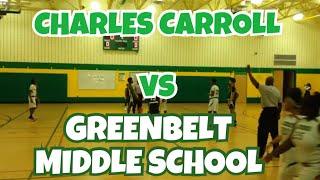 12/04/17 - Charles Carroll vs. Greenbelt - Coach Dunbar - #1 Marvin Guthrie HD