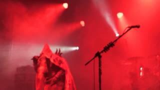 Lordi Blood Red Sandman Bielefeld 26.12.13 halb