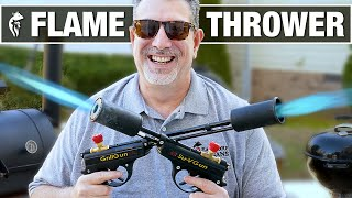 Pocket Flame Throwers from GrillBlazer - What @Dude Perfect Didn&#39t Tell You!