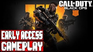 Call of Duty BLACK OPS 4 Gameplay Walkthrough Part 1 - No Commentary (Early Access Beta)
