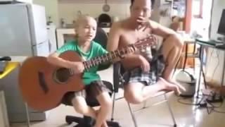 Clip hot  Mới 6 tuổi hát nhạc chế như tùng chùa 2016 giải trí vui cười hay nhất
