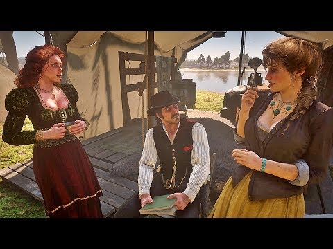 Dutch Flirts with Mary-Beth + Molly Jealous / Hidden Dialogue / Red Dead Redemption 2 thumbnail