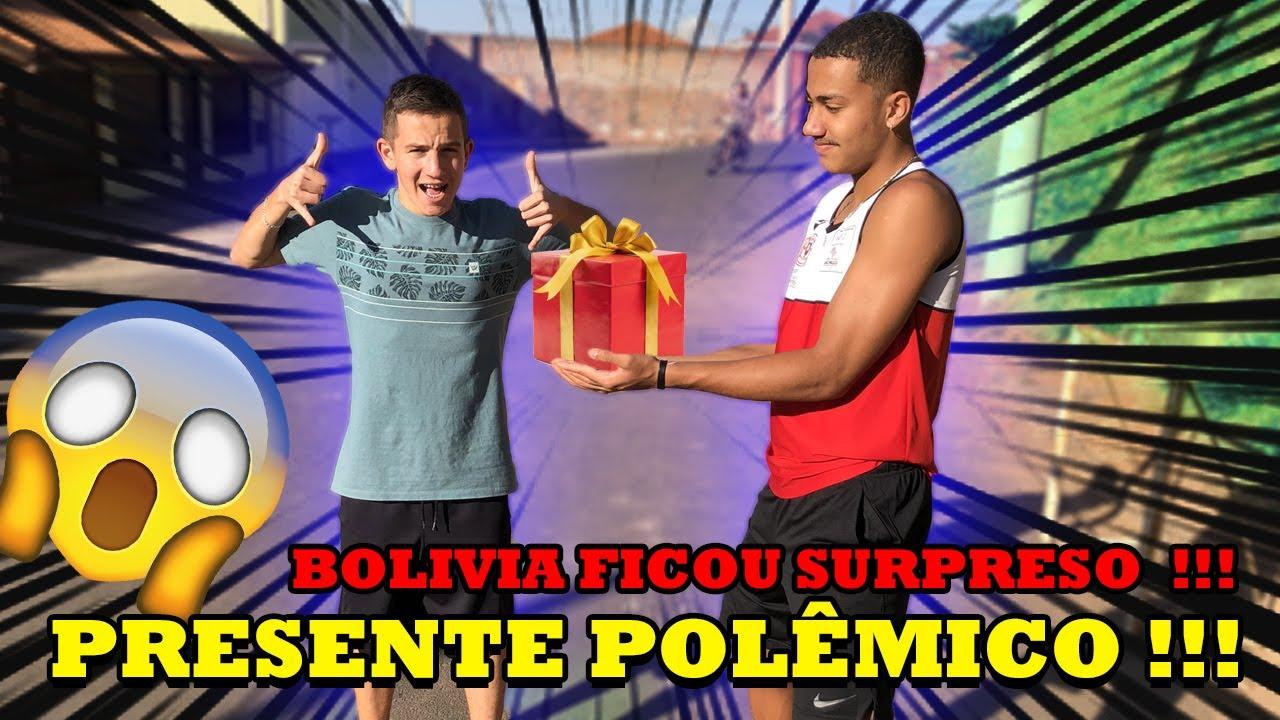 O TALARICO DEU UM PRESENTE POLEMICO PARA O BOLÍVIA !!!