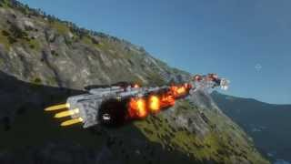 Space Engineers Planetary Battle
