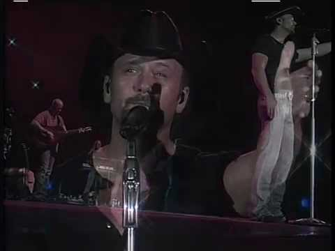 TIM McGRAW Drugs Or Jesus 2009 LiVe