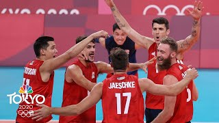 USA men's volleyball takes care of business against Tunisia | Tokyo Olympics | NBC Sports