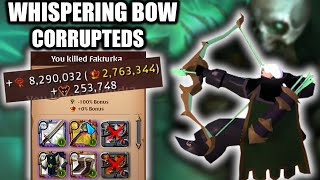 Whispering bow kills 8.3! / Corrupted Dungeons / Albion Online