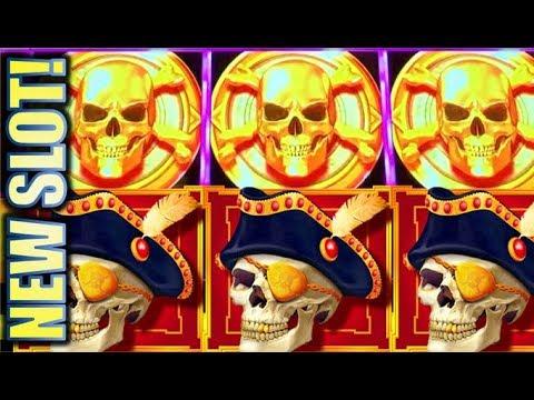 ★WINNING!! NEW SLOT!★ GOLDEN SKULLS - JACKPOT FORGE Slot Machine Bonus (AGS)