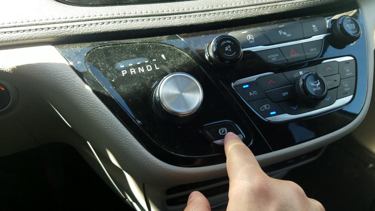 Chrysler Pacifica Electronic Parking Brake