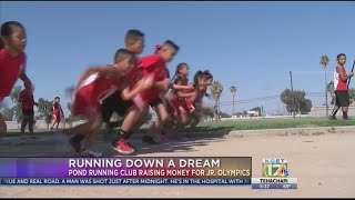 Pond Running Club raising money for Junior Olympics