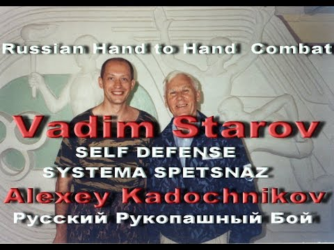 Vadim Starov & Alexey Kadochnikov Close Combat Self Self-defense On Staircase