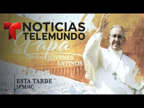 EN VIVO: El Papa con los Jóvenes Latinos un especial de Noticias Telemundo