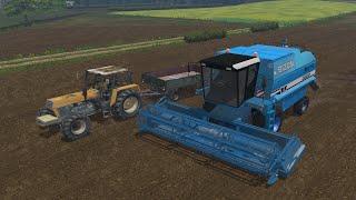 Farming Simulator 2015 #5 - Życie samotnego rolnika- Polskie maszyny :D |Ursus & Bizon|