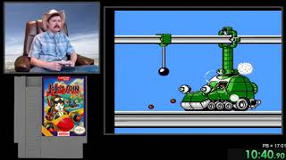 Talespin NES speedrun in 16:47 by Arcus