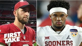 If Kyler Murray is drafted No. 1 by the Cardinals, what is Josh Rosen's fate? | First Take